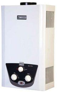 سخان مياه غاز ديجيتال Zngwdg06Flwh - من زانوسي - أبيض