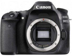 كاميرا كانون EOS 80D هيكل