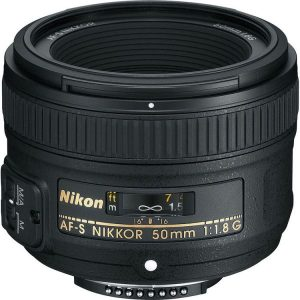 عدسة مخصصة لكاميرا نيكون دي اس ال ار من نيكون AF نيكور 50 ملم