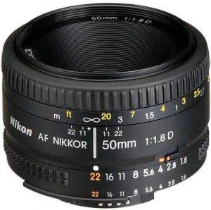 عدسة نيكور مخصصة لكاميرا نيكون