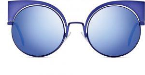 نظارة شمس زرقاء من فيندي