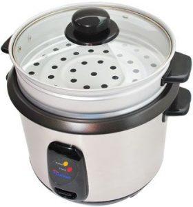 حلة طهي الأرز الأبيض من هوم