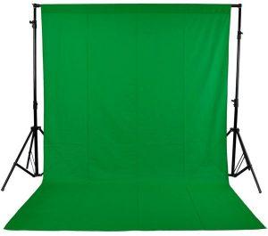 خلفية تصوير قماش للاستديو اخضر